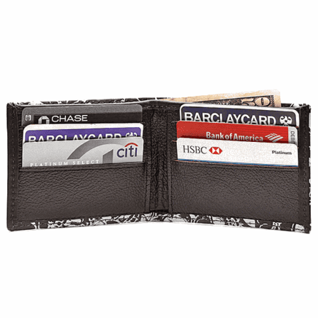 Out Of My Skull Bifold Wallet - Discontinued