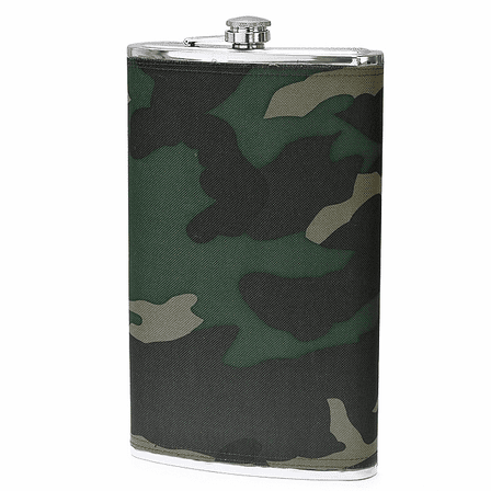 Oversized 64 Ounce Camouflage Flask - Discontinued