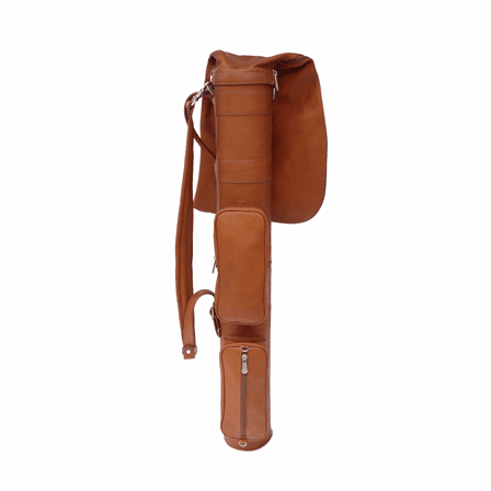 Par 3 Leather Golf Travel Bag