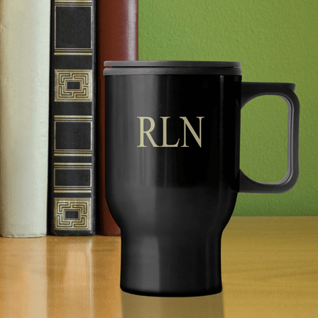 Personalized 12 Ounce Travel Mug