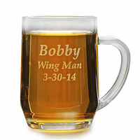 Personalized 20 Ounce Barrel Mug with Handle