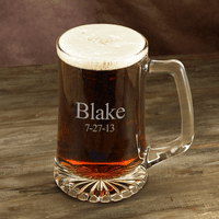 Personalized 25 Ounce Sports Mug