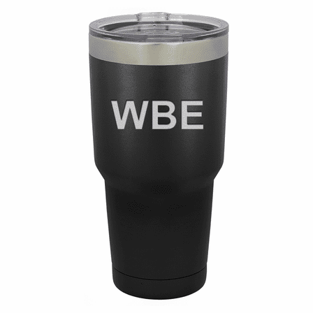 Personalized 30 Ounce Black Polar Camel Tumbler