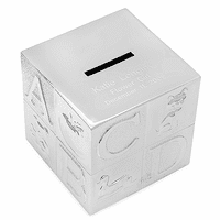 Personalized Alphabet Cube Money Bank