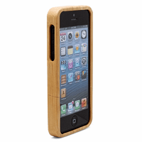 Personalized Bamboo iPhone 5 Case