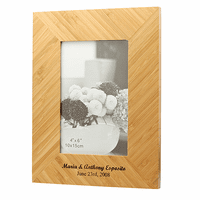 Personalized Bamboo Picture Frame