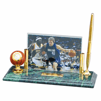 Personalized Basketball Photo Frame Desk Set - Discontinued