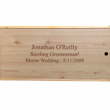Personalized BBQ Gift Set with Pine Box - Discontinued