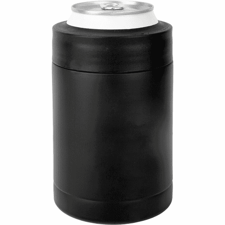 Personalized Black Insulated Can & Bottle Holder