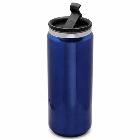 Personalized Blue Can Design Travel Mug