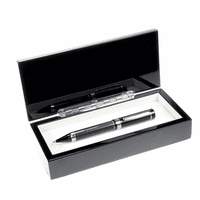 Personalized Carbon Fiber Ballpoint Pen Gift Set