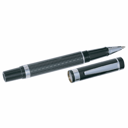 Personalized Carbon Fiber Dual Pen Gift Set