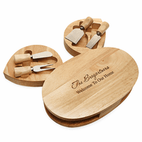 Personalized Cheese Cutting Board - Discontinued