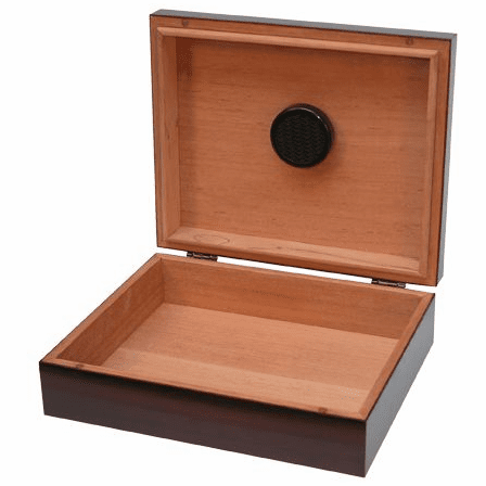 Personalized Cherry Wood Humidor