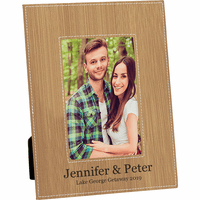 """Personalized Cork 5"""" x 7"""" Picture Frame"""