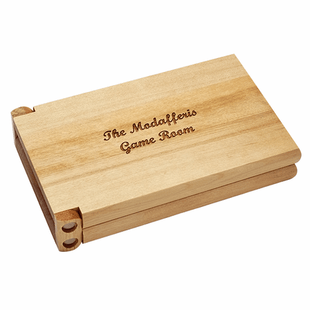 Personalized Cribbage Set