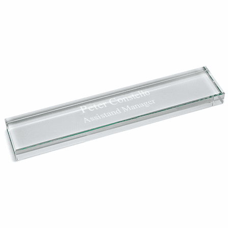 Personalized Crystal Name Bar