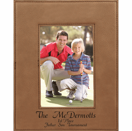 """Personalized Dark Brown 5"""" x 7"""" Picture Frame"""