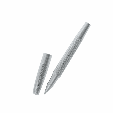 Personalized Diamond Cut Rollerball Pen