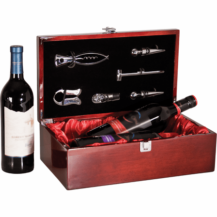 Personalized Double Bottle Wine Presentation Box
