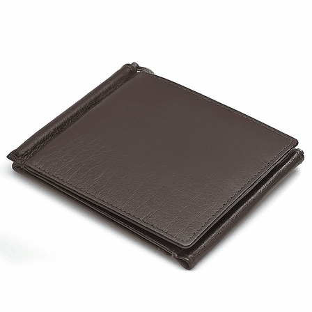 Personalized Double Money Clip Credit Card Holder