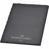 Personalized Family Slate Cheese Board