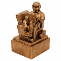 Personalized Fantasy Football Man in Chair Award