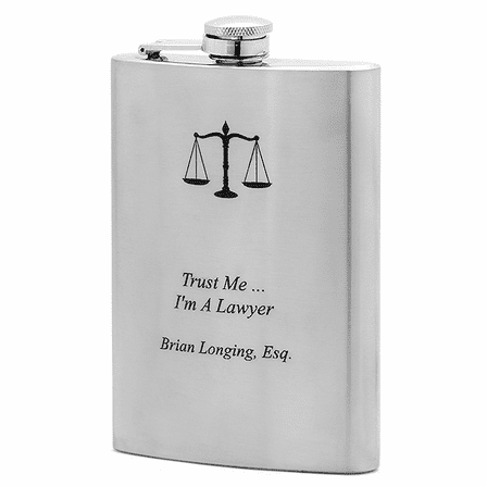 Personalized Flask For Lawyers