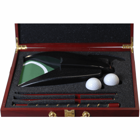 Personalized Folding Golf Putter Gift Set