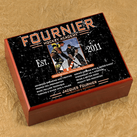 Personalized Full Color 20 Count Cigar Humidor