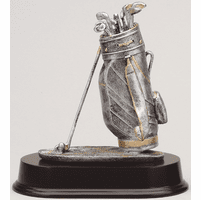 Personalized Golf Bag Award
