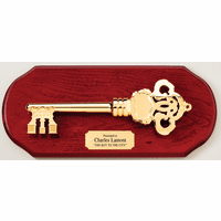 Personalized Key To The City Plaque