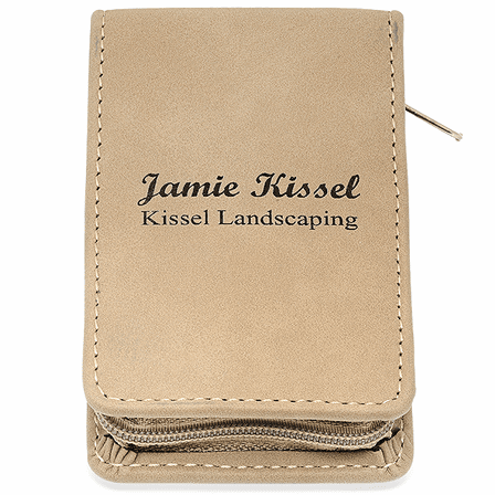 Personalized Leatherette Travel Manicure Set