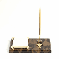 Personalized Medical Theme Notepad Holder & Pen Stand