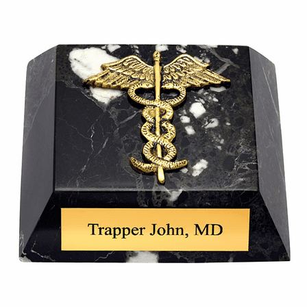 Personalized Medical Theme Paperweight