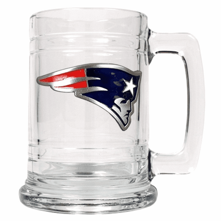 Personalized NFL Glass Tankard