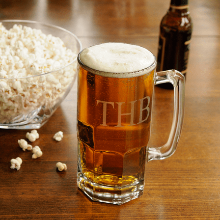 Personalized Oversized 32 Ounce Beer Mug