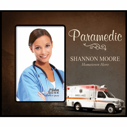 Personalized Paramedic Picture Frame