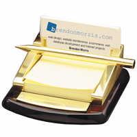 Personalized Post It Holder & Pen Stand
