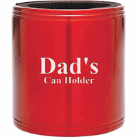 Personalized Red Insulated Can Holder