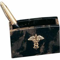 Personalized Scales of Justice Pen & Pencil Cup