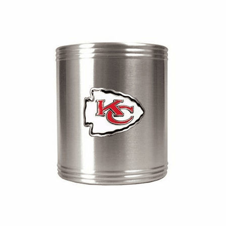 Personalized Stainless Steel NFL Can Holder