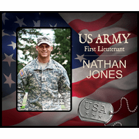 Personalized U.S. Army Picture Frame - Discontinued