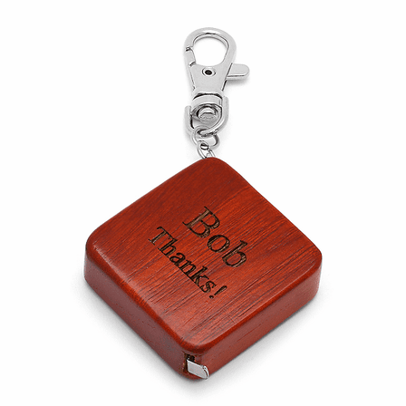 Personalized Wooden Tape Measure