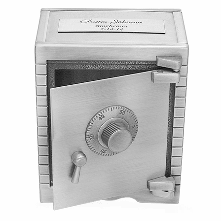 Personalized Working Safe Coin Bank