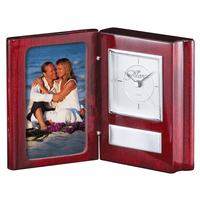 Personlized Book Style Photo Clock