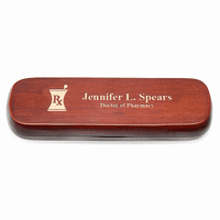 Pharmacist Theme Cherrywood Double Pen and Box Set