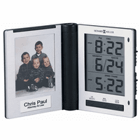 Photo Traveler Travel Alarm Clock by Howard Miller - Discontinued