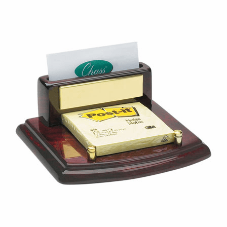 Piano Desktop Business Card & Post-It Holder
