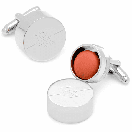 Pill Box Cufflinks